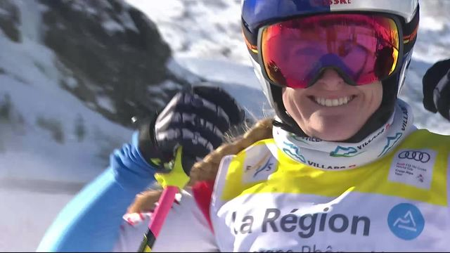 Val Thorens (FRA): victoire de Fanny Smith (SUI) [RTS]