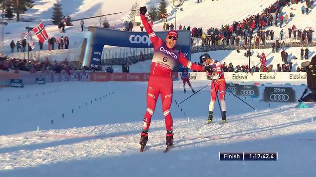 Lillehammer (NOR), 30km messieurs: Alexander Bolshunov (RUS) s'impose, Rueesch (SUI) finit 22e [RTS]