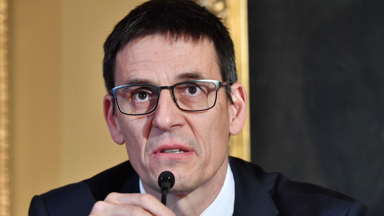 Prix Nobel de physique, Didier Queloz réclame des mesures urgentes contre le changement climatique. [Jonas Ekstromer - Keystone]