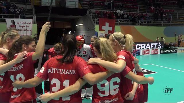 Groupe A, Suisse - Allemagne (12-1): les Suissesses s'imposent aisément [RTS]