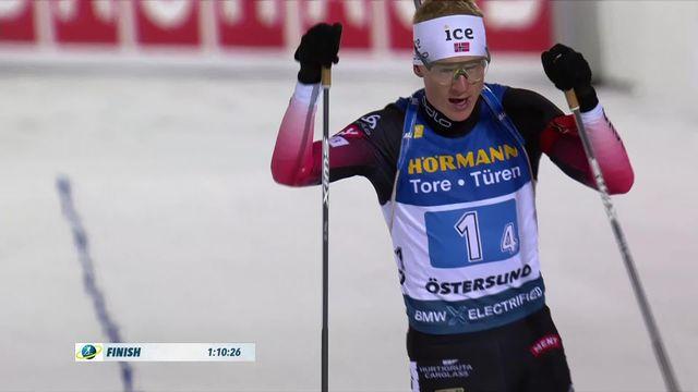 Östersund (SUE), équipe messieurs: victoire des Norvégiens, les Suisses termine 10e [RTS]