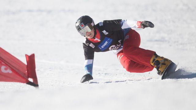 Snowboard: encore un podium pour Ladina Jenny