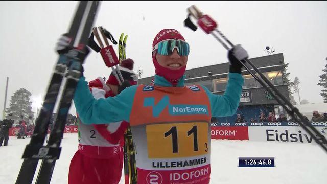 Lillehammer (NOR), relais messieurs: doublé russe devant la Norvège [RTS]