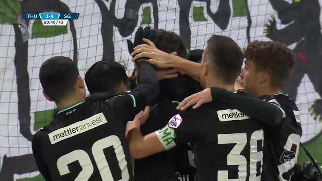 17e journée: Thoune - St-Gall (1-4): les buts du match [RTS]