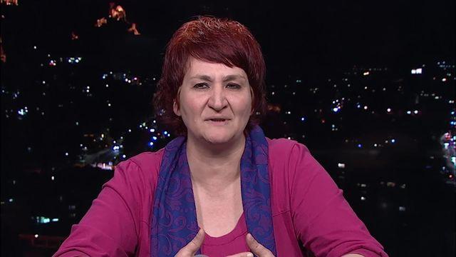 Jacqueline Lavanchy, une citoyenne qui brigue directement un siège au Conseil fédéral [RTS]