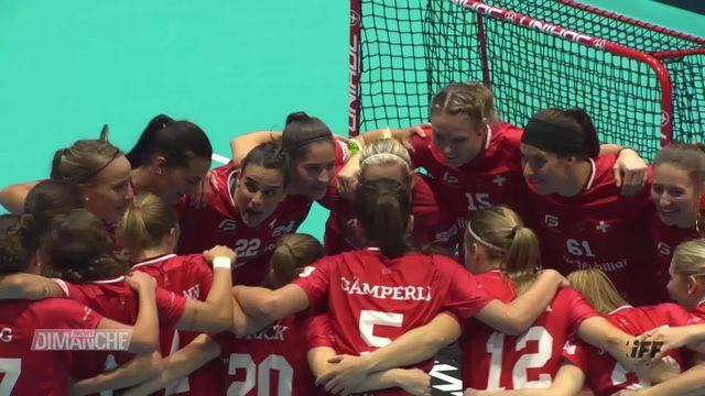 Championnats du monde de Unihockey: Suisse - Finlande (7-4) [RTS]