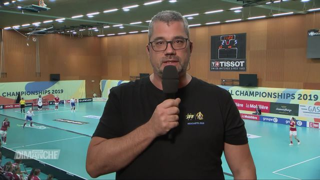 Championnats du monde de Unihockey: entretien avec Cédric Jaccoud, président du comité d'organisation [RTS]
