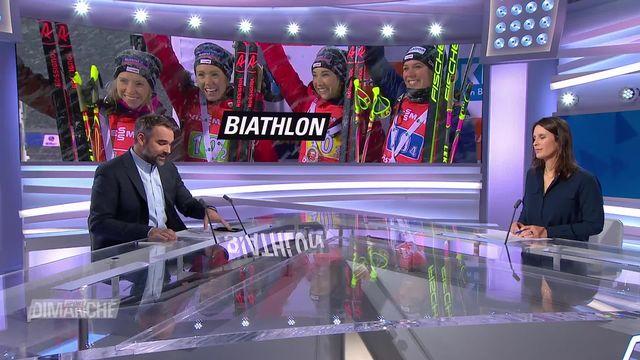 Biathlon: 2e place en Coupe du monde pour les Suissesses [RTS]
