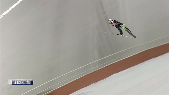 Saut à Ski: Killian Peier 2e en Coupe du monde [RTS]