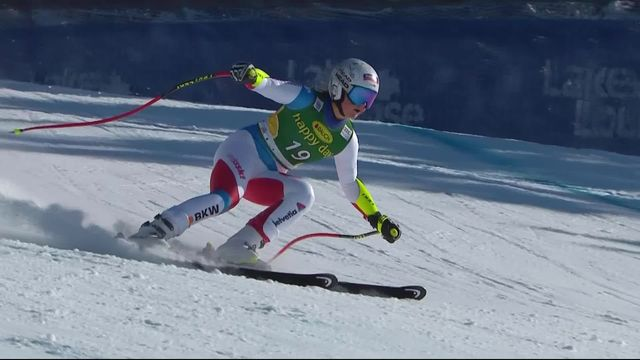 Lake Louise (CAN), Super G dames: 2e place provisoire pour Corinne Suter [RTS]