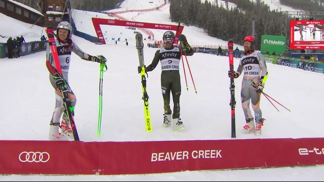 Beaver Creek (USA), géant messieurs, 2e manche: Tommy Ford (USA) s'impose à domicile [RTS]