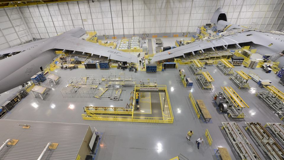 Une usine Lockheed Martin à Marietta, dans l'Etat américain de Géorgie. [Erik S.Lesser - Keystone]