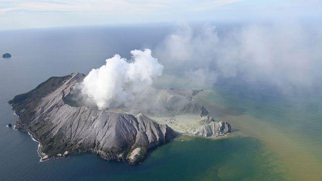 Le volcan de White Island est entré en éruption. [George Novak - Keystone/AP]