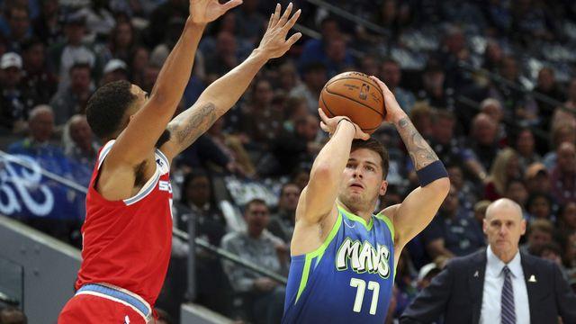 NBA: Luka Doncic bat un record de Michael Jordan
