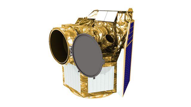 CHEOPS est un satellite scientifique de l'Agence Spatiale Européenne construit sous leadership suisse, notamment par l'Université de Genève (UNIGE). UNIBE ESA [UNIBE - ESA]