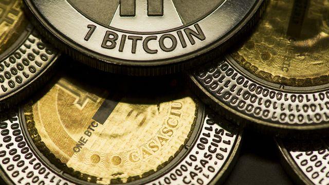 Le bitcoin est l'une des cryptomonnaies les plus connues. [Ennio Leanza - Keystone]