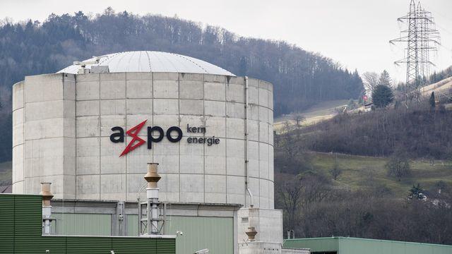 La centrale nucléaire de Beznau I, photographiée en mars 2018. [Ennio Leanza - Keystone]