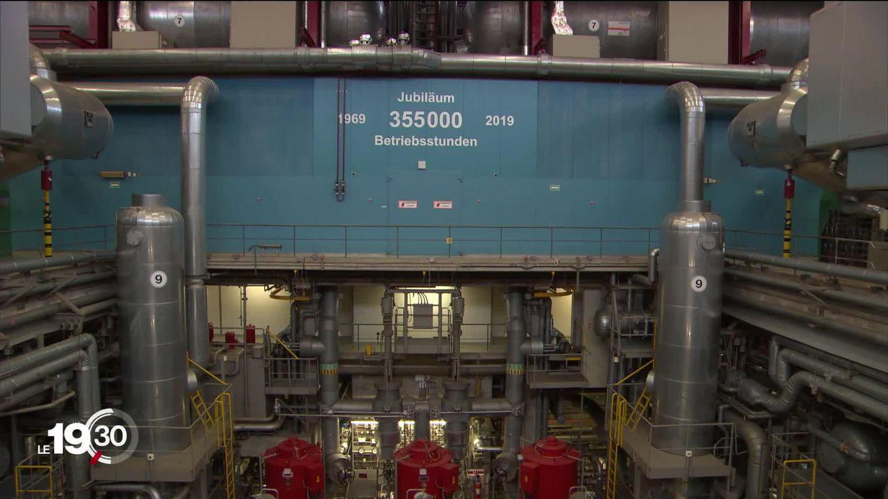 Avec son demi-siècle d'existence, Beznau (AG) est la plus vieille centrale nucléaire d'Europe. [RTS]