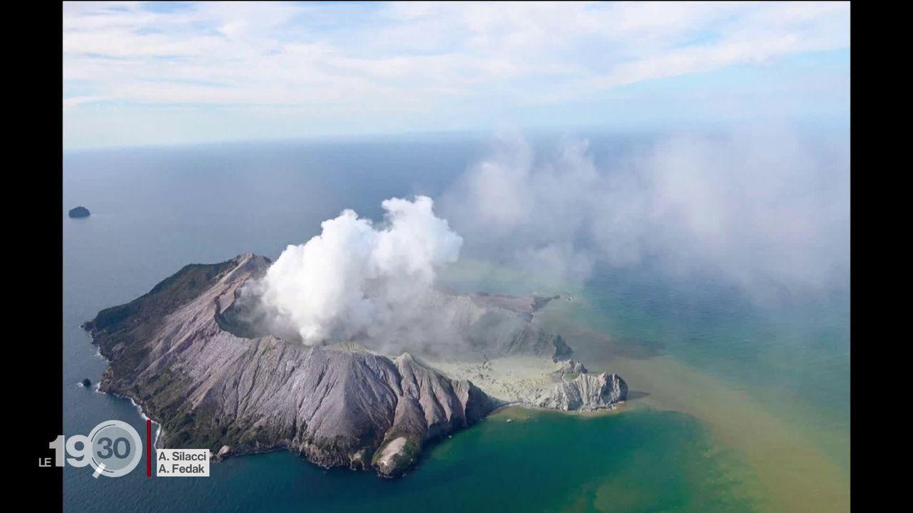 Plusieurs personnes ont été tuées en Nouvelle-Zélande par l'éruption d'un volcan, au nord-est du pays. [RTS]