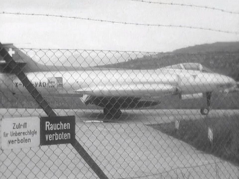 L'avion de chasse suisse le P 16 [RTS]