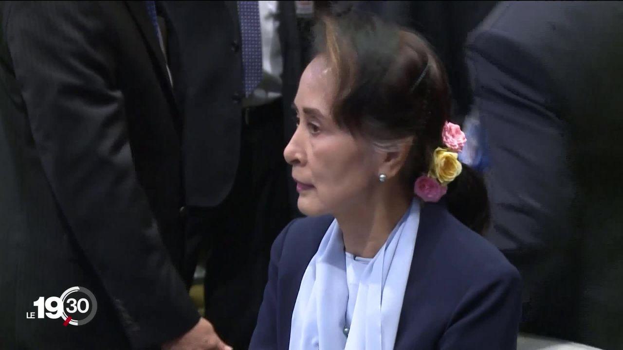 Aung San Suu Kyi défend son pays accusé de génocide devant la Cour internationale de justice. [RTS]