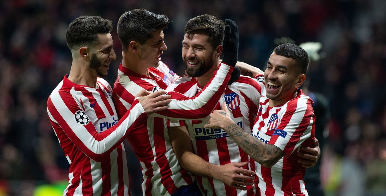 L'Atlético passe en 8es! [R.Jimenez - Keystone]