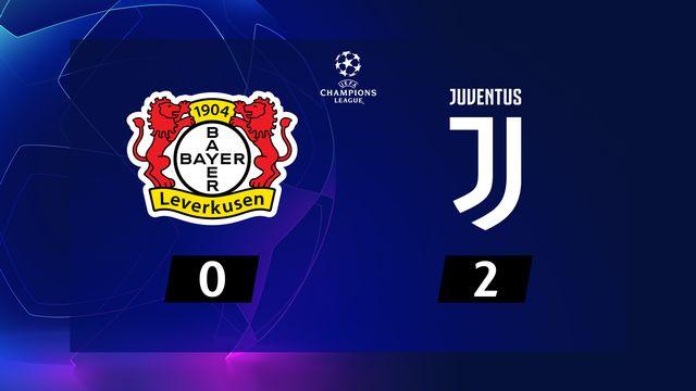 6ème journée, Bayer Leverkusen - Juventus (0-2): la Juve assure, le Bayer termine troisième du groupe