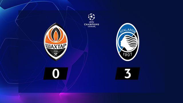 6ème journée, Shakhtar Donetsk - Atalanta (0-3): l'Atalanta de Freuler se qualifie pour les 1-8 !