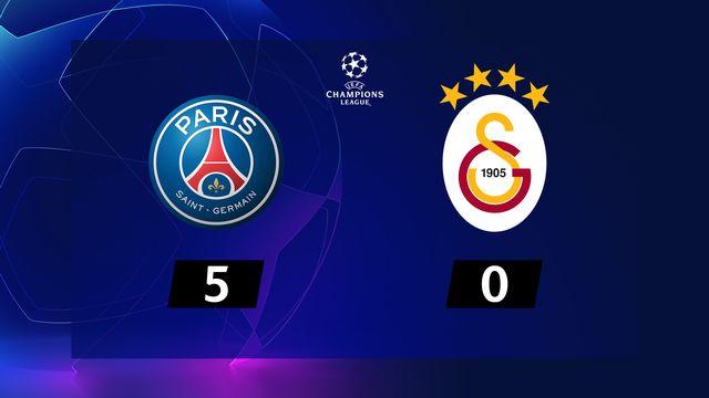 6ème journée, PSG - Galatasaray (5-0): le PSG en patron, Galatasaray finit quatrième du groupe