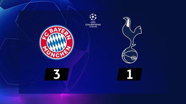 6ème journée, Bayern Munich - Tottenham (3-1): 6 victoires en autant de matches pour le Bayern !