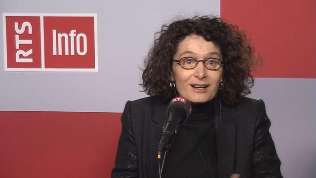 Ariane Giacobino, généticienne aux HUG. [RTS]