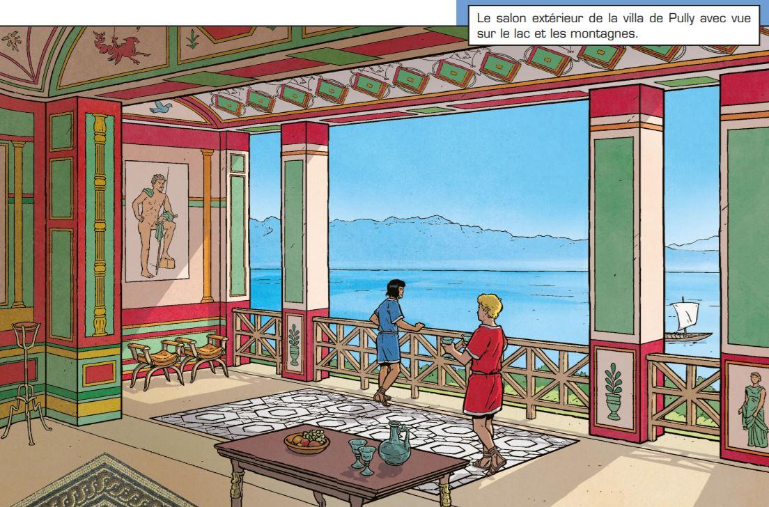 Le héros de bande dessinée Alix explore enfin la Suisse gallo-romaine
