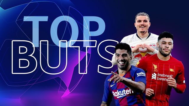 Les 10 plus beaux buts de la phase de poules de Ligue des champions!