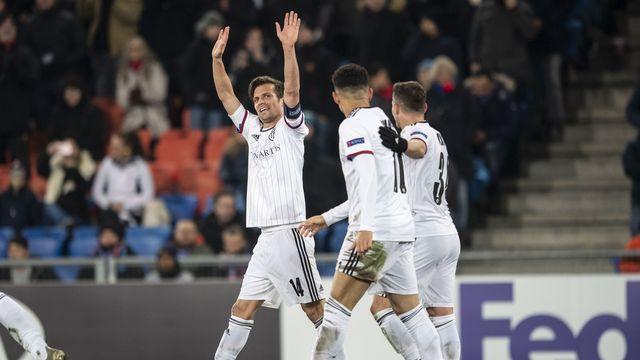 Valentin Stocker a inscrit le 2-0 contre Trabzonspor. [Ennio Leanza - Keystone]