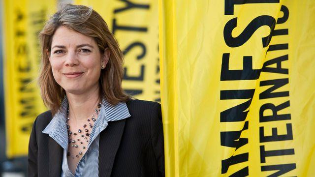 Manon Schick, directrice d'Amnesty Suisse. [Alessandro Della Valle - Keystone]