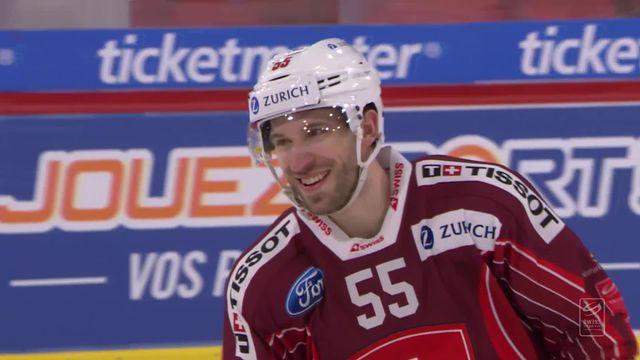 Suisse - Russie (8-2): la Suisse écrase la Russie en finale [RTS]