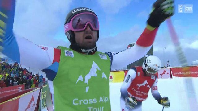 Skicross: Ryan Regez s'impose en Autriche, déception pour Fanny Smith