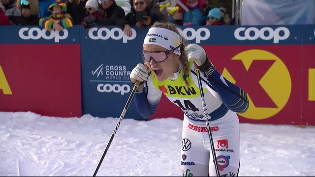 Davos (SUI), Sprint dames: victoire de Linn Svahn (SWE) [RTS]