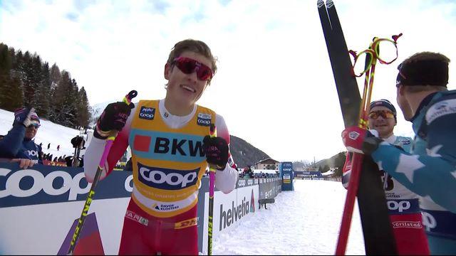 Davos (SUI), Sprint messieurs: Johannes Klaebo (NOR) triomphe [RTS]