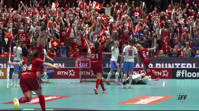 1-4, Suisse - Rép. tchèque (7-6 ap): la Suisse revient de nulle part et file en finale [RTS]