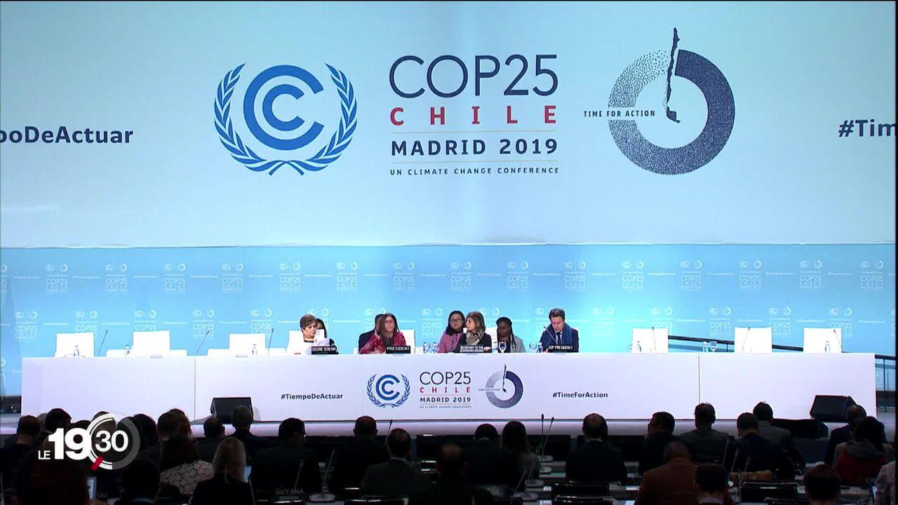 COP25 : le sommet sur le climat va-t-il se solder par un échec? [RTS]