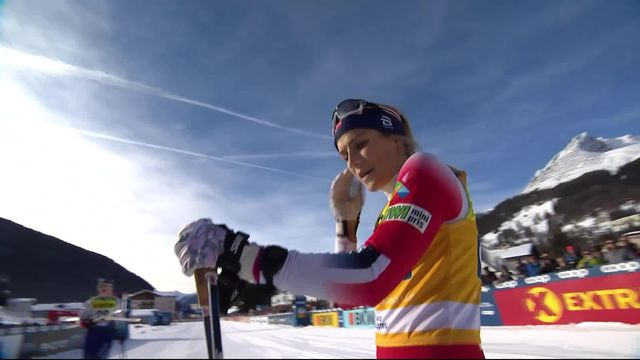 Davos (SUI), 10km dames: Therese Johaug (NOR) s'impose [RTS]