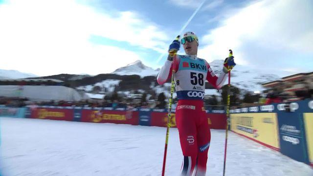 Davos (SUI), 15km messieurs: victoire de Simen Hegstad Krüger (NOR), Dario Cologna (SUI) 3e [RTS]