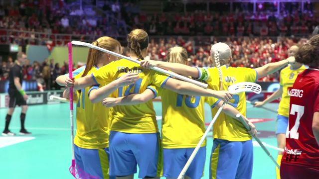 Finale, Suède -Suisse (3-2): Défaite de la Suisse en prolongation [RTS]