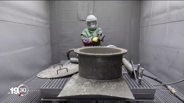 Nucléaire: J-5 avant l'arrêt de Mühleberg.  Comment démanteler ce géant de ferraille hautement radioactif? [RTS]