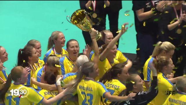 Unihockey: défaite des Suissesses face à la Suède en finale du Championnat du monde féminin à Neuchâtel (2-3). [RTS]
