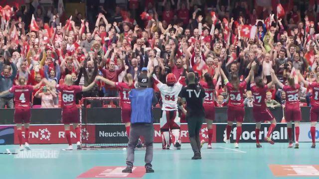 Unihockey: l'incroyable retournement de situation des Suissesses en demi-finale [RTS]