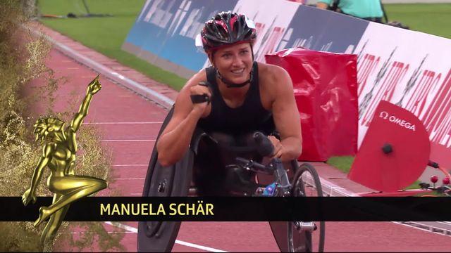 Manuela Schär est la sportive paralympique de l'année [RTS]