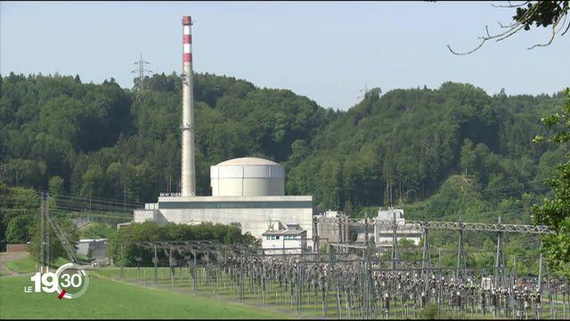 L'arrêt de la centrale de Mühleberg ne posera pas de problème pour l'approvisionnement du pays [RTS]