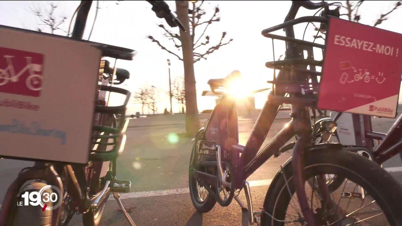 Le vélo en libre-service s'étend en Suisse, dans un marché dynamique mais pas encore rentable [RTS]